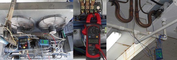 Diagnóstico de equipos de refrigeración para optimización y reparación.