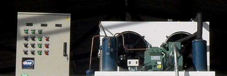 Maquinaria para cuartos fríos y refrigeración industrial, Bogotá.