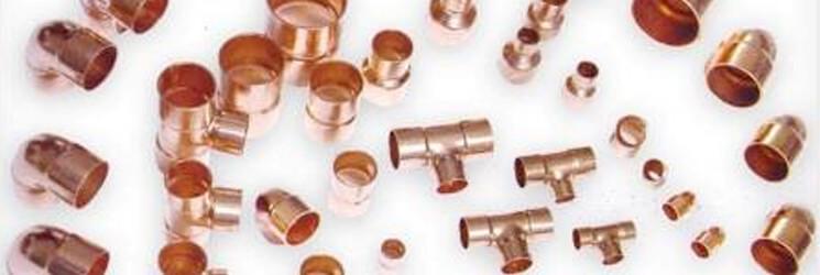 Material de cobre para sistemas de refrigeración y cuartos fríos.