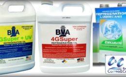 Aceite mineral para compresores de equipos de refrigeración.