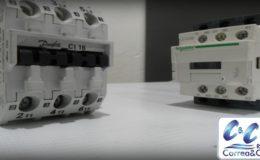 Contactor magnético trifásico para control de motores y circuitos