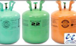 Gas refrigerante para cuartos fríos y áreas de refrigeración en Bogotá