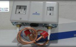 Presóstatos de alta y baja presión para compresor o motores.
