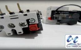 Relé térmico para protección de compresores de refrigeración.