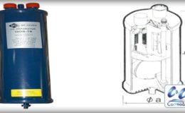 Separador de aceite para compresores.