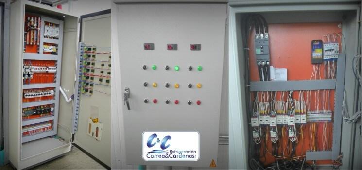 Tableros eléctricos para sistemas de refrigeración en Bogotá