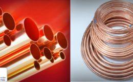 Tuberías de cobre para equipos de refrigeración