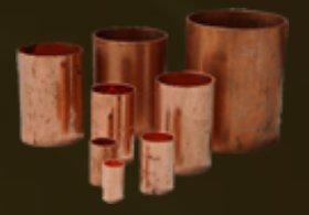 Uniones de cobre