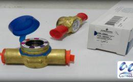 Visores de líquido para tuberías de refrigeración