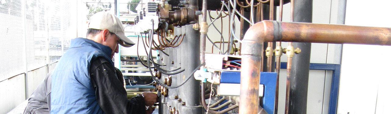 Mantenimiento de sistemas de refrigeración