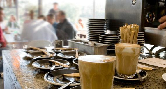 La refrigeración del café tostado para lograr un mejor sabor final.