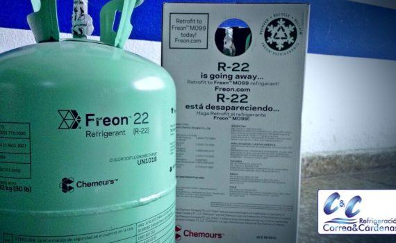 Datos sobre seguridad a la hora de manejar refrigerantes en cuartos fríos