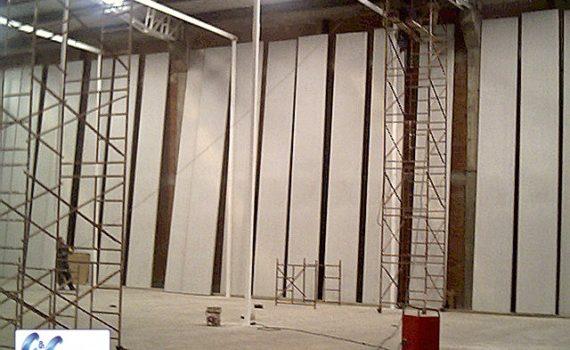 Paneles modulares para la construcción de cuartos fríos.