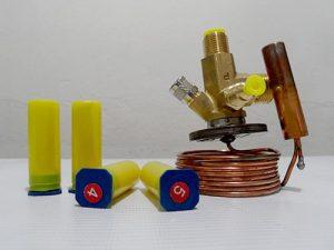 Valvula de Expansion R22 TIE-HW con Orificio
